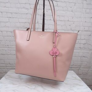 Kate Spade Kelsey Tote smooth baby pink leather